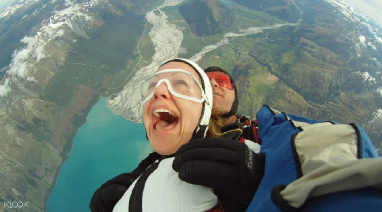 格林诺奇高空跳伞
