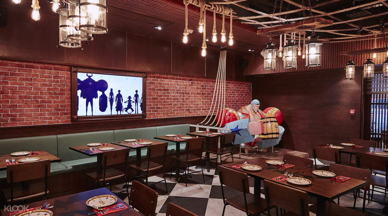 香港紅磡海賊王餐廳