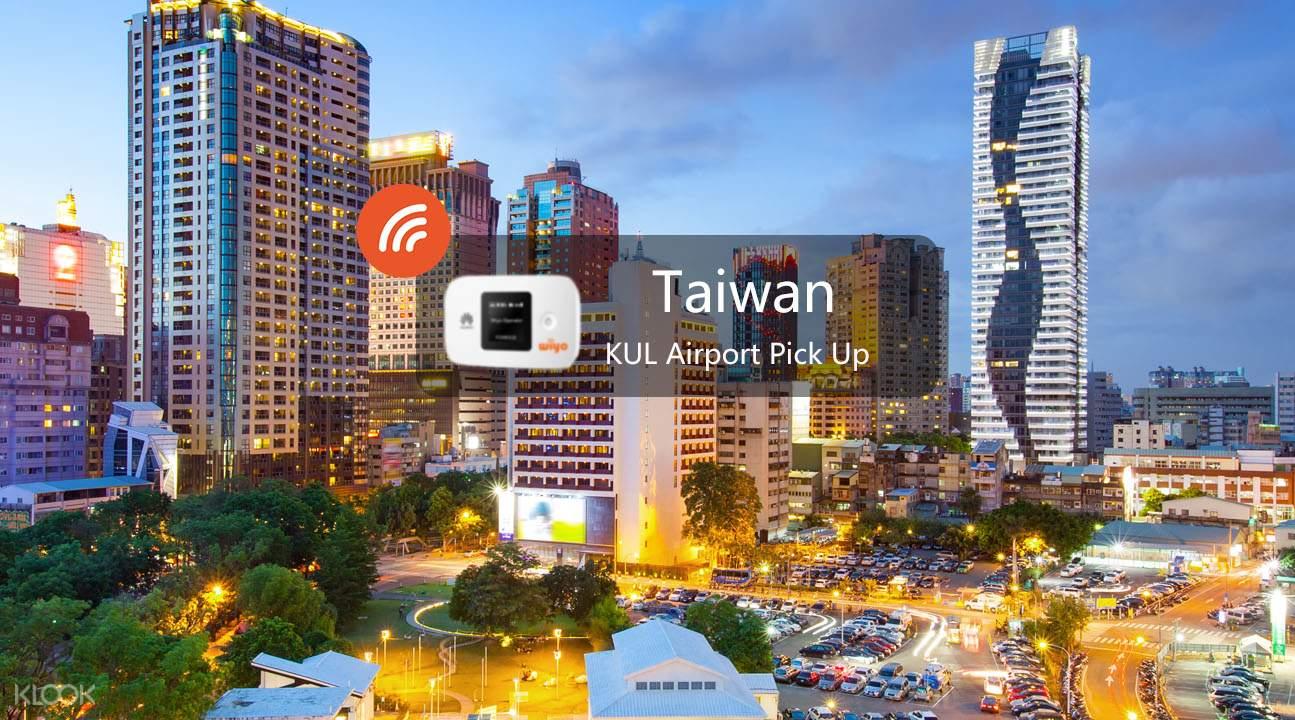 Taiwan wifi KUL pickup