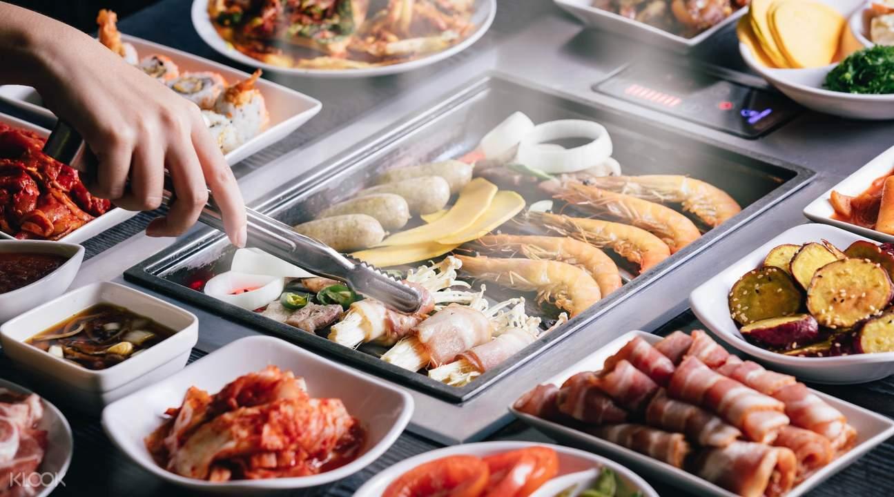 多美歌I'm Kim Korean BBQ多种肉食可选