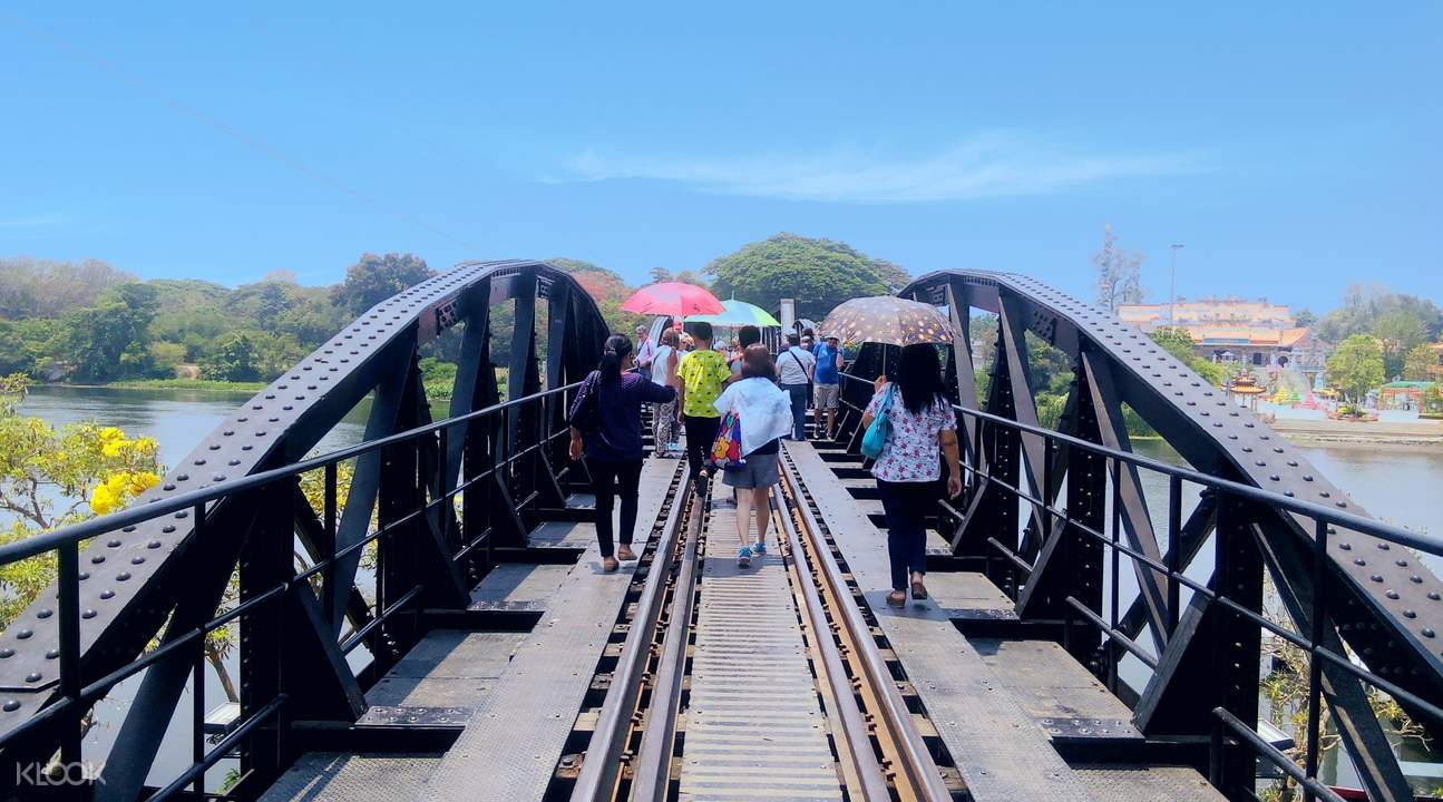 kanchanaburi river kwai bridge from bangkok thailand