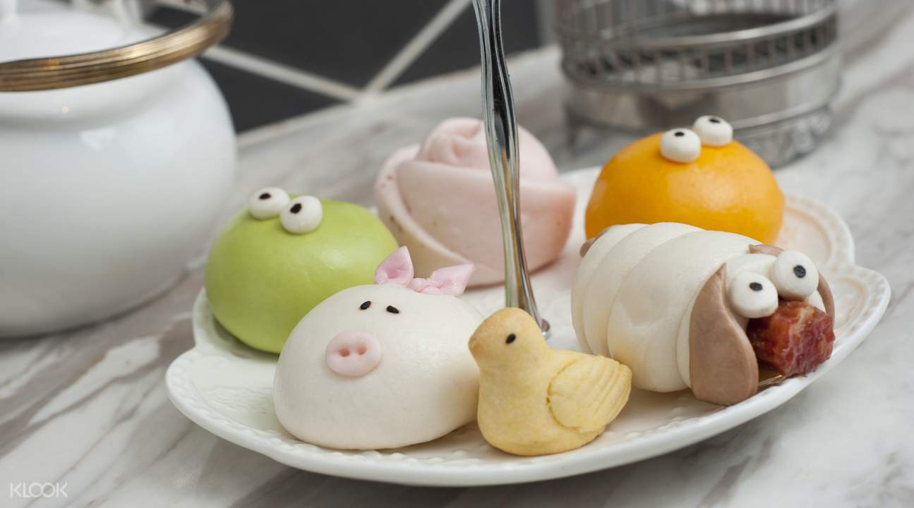 饮茶YumCha  快乐农庄点心拼盘