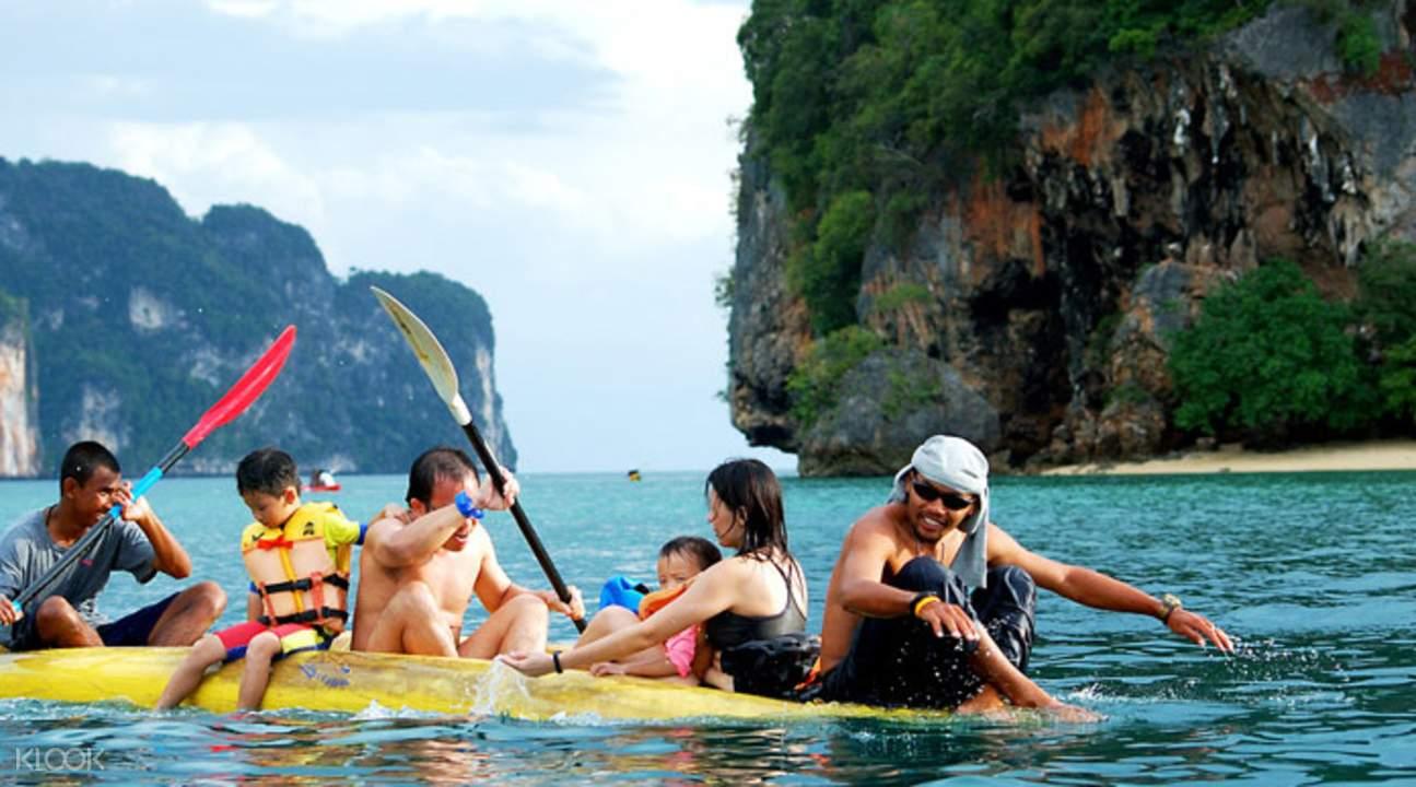普吉島皮划艇