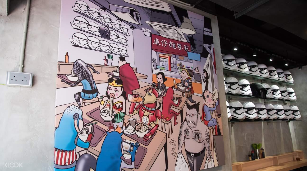 cart noodle expert sheung wan hong kong