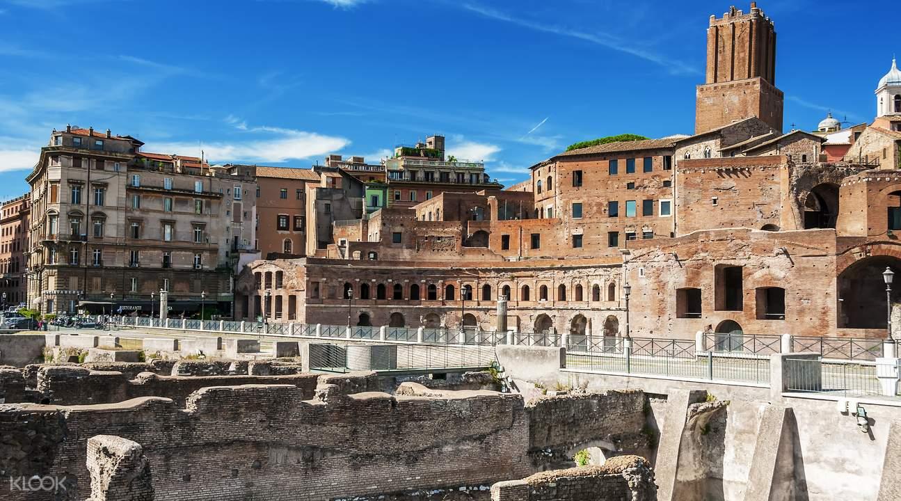 罗马观光巴士票