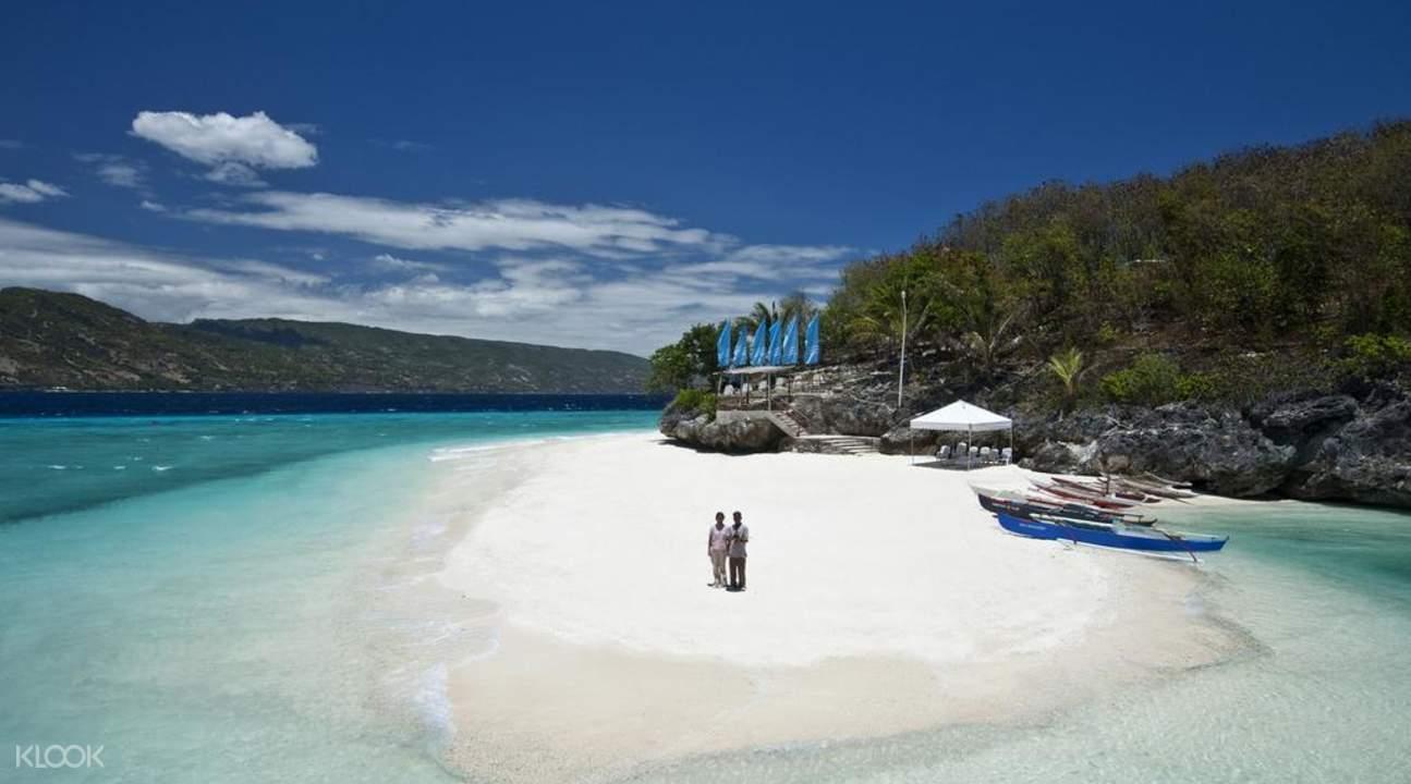 Sand bar of Sumilon island