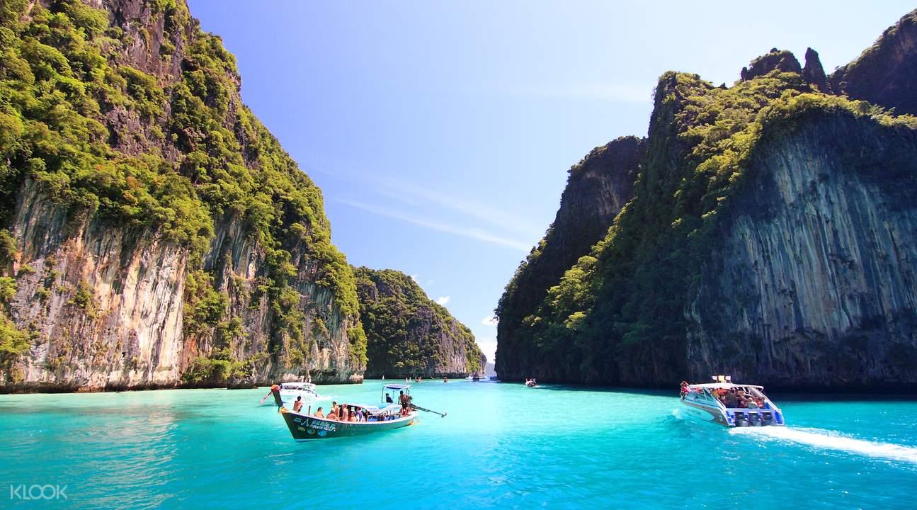 Vịnh Maya đảo Phi Phi chuyến đi tàu cao tốc, vé chuyến đi đảo Phi Phi