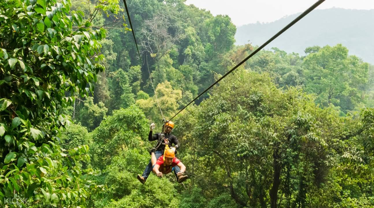dragon flight zipline adventure tour