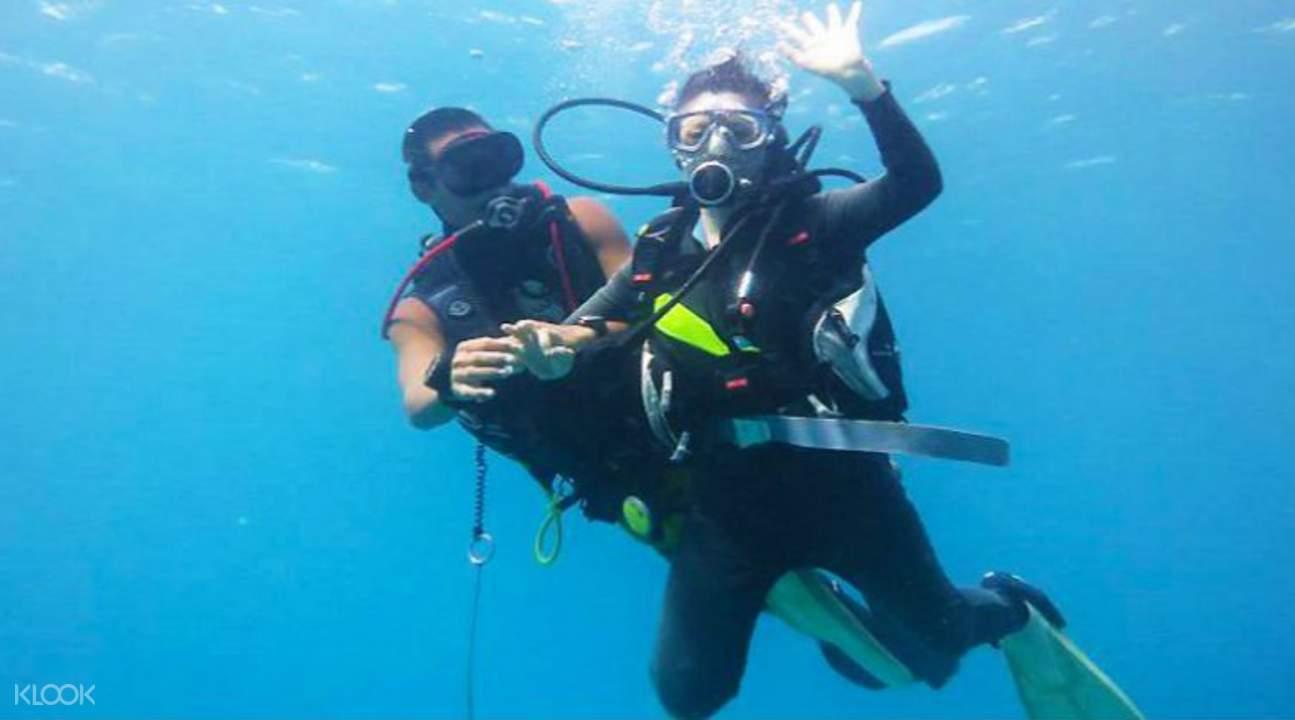 diving in lanyu