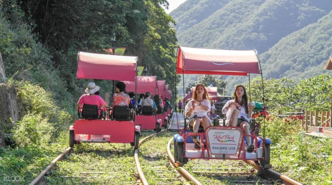 江村鐵道自行車體驗