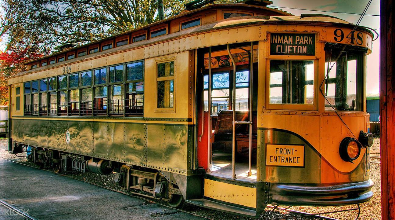 trolley tour of Boston