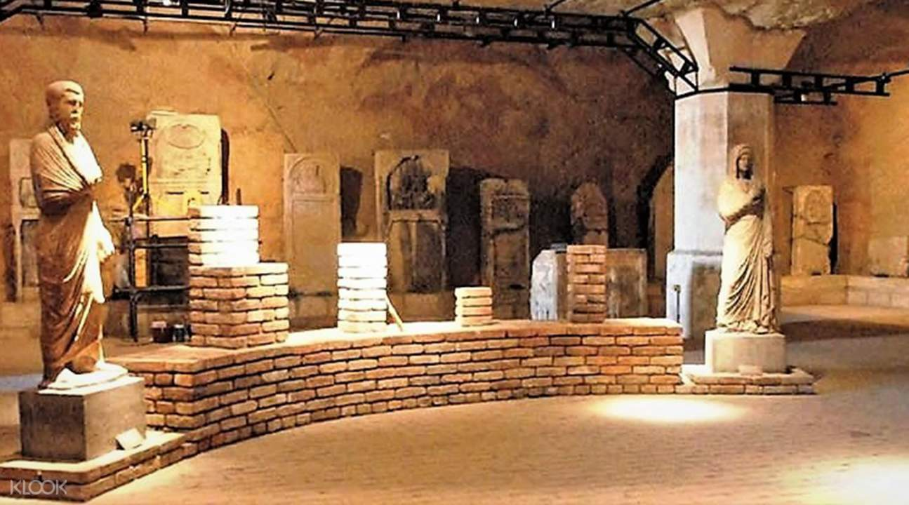 Belgrade Roman cave