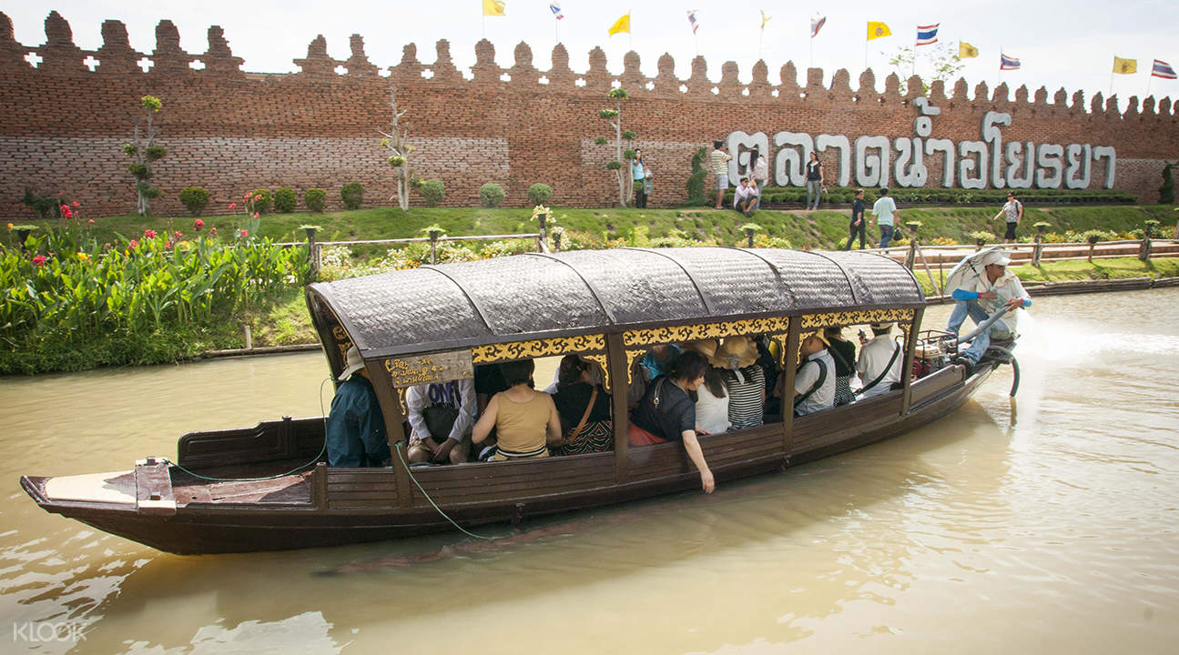 ayutthaya floating market
