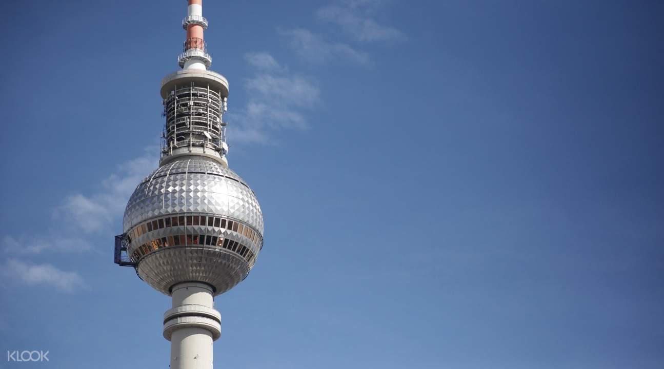柏林半日遊柏林電視塔