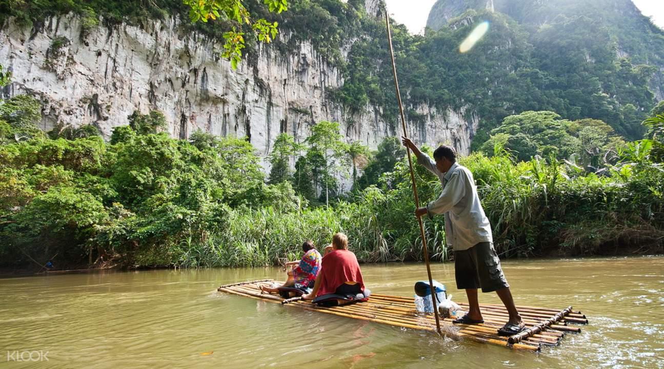 Bambo rafting Phukey