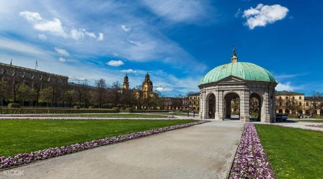 慕尼黑王宮花園