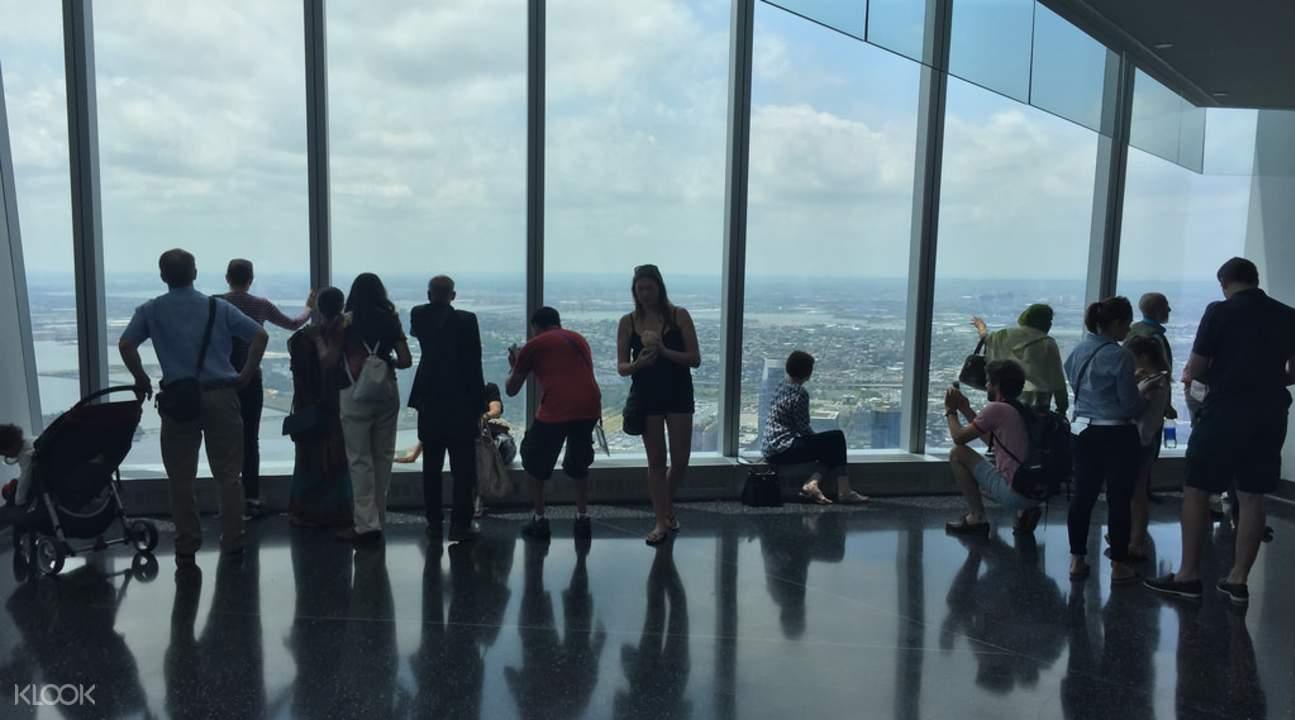 纽约世贸中心一号楼观景台