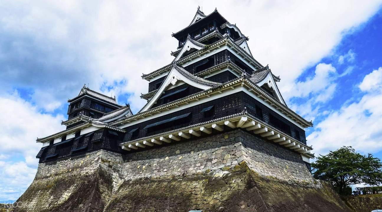 Image result for lâu đài Kumamoto