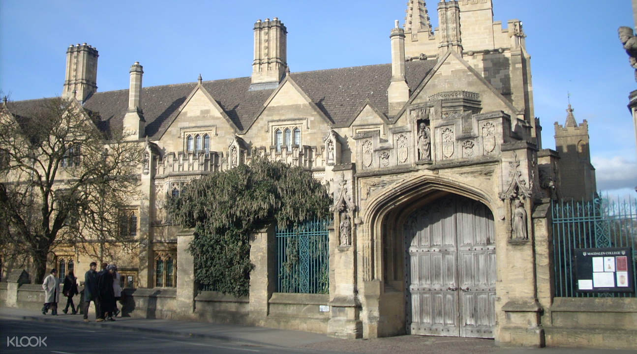 Magdalene College in Oxford