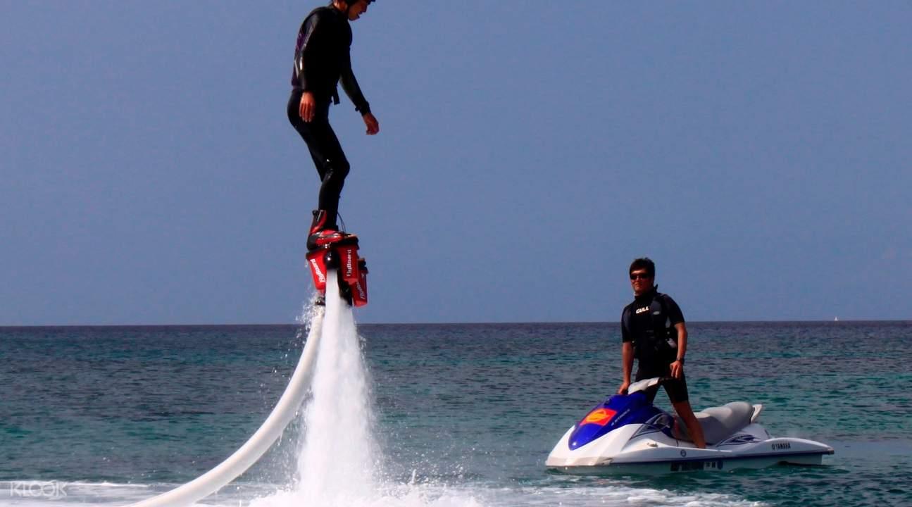 冲绳水上Flyboard,冲绳水上活动,冲绳水上钢铁人