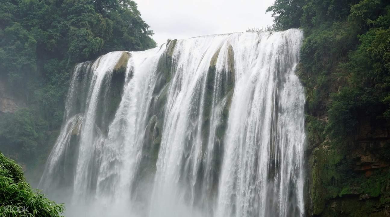 huangguoshu waterfall guizhou tickets