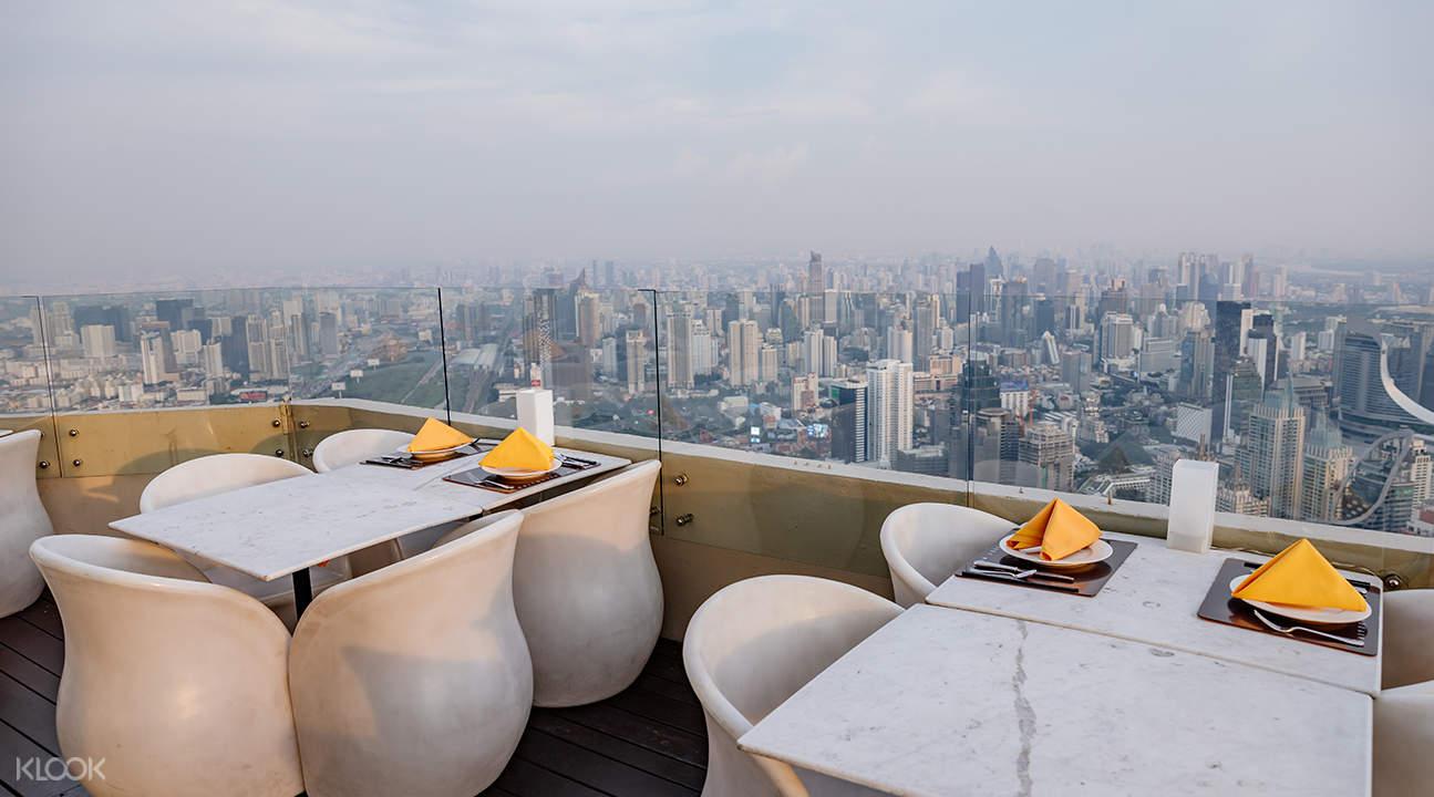 Bangkok Sky Balcony buffet