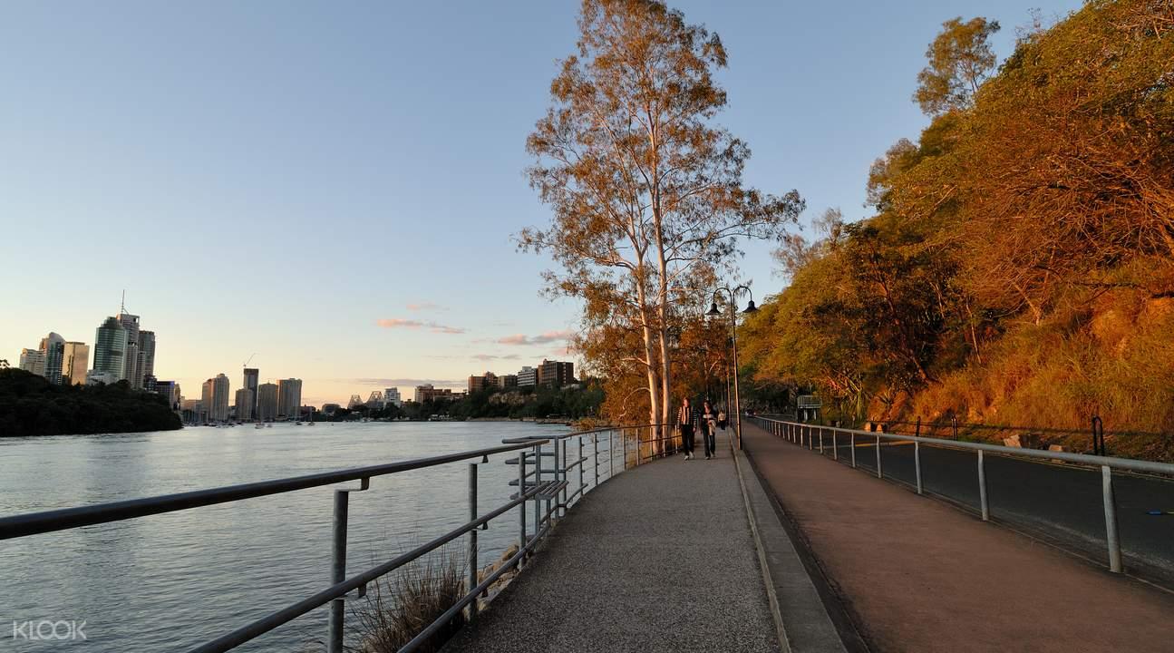 美丽的布里斯班河