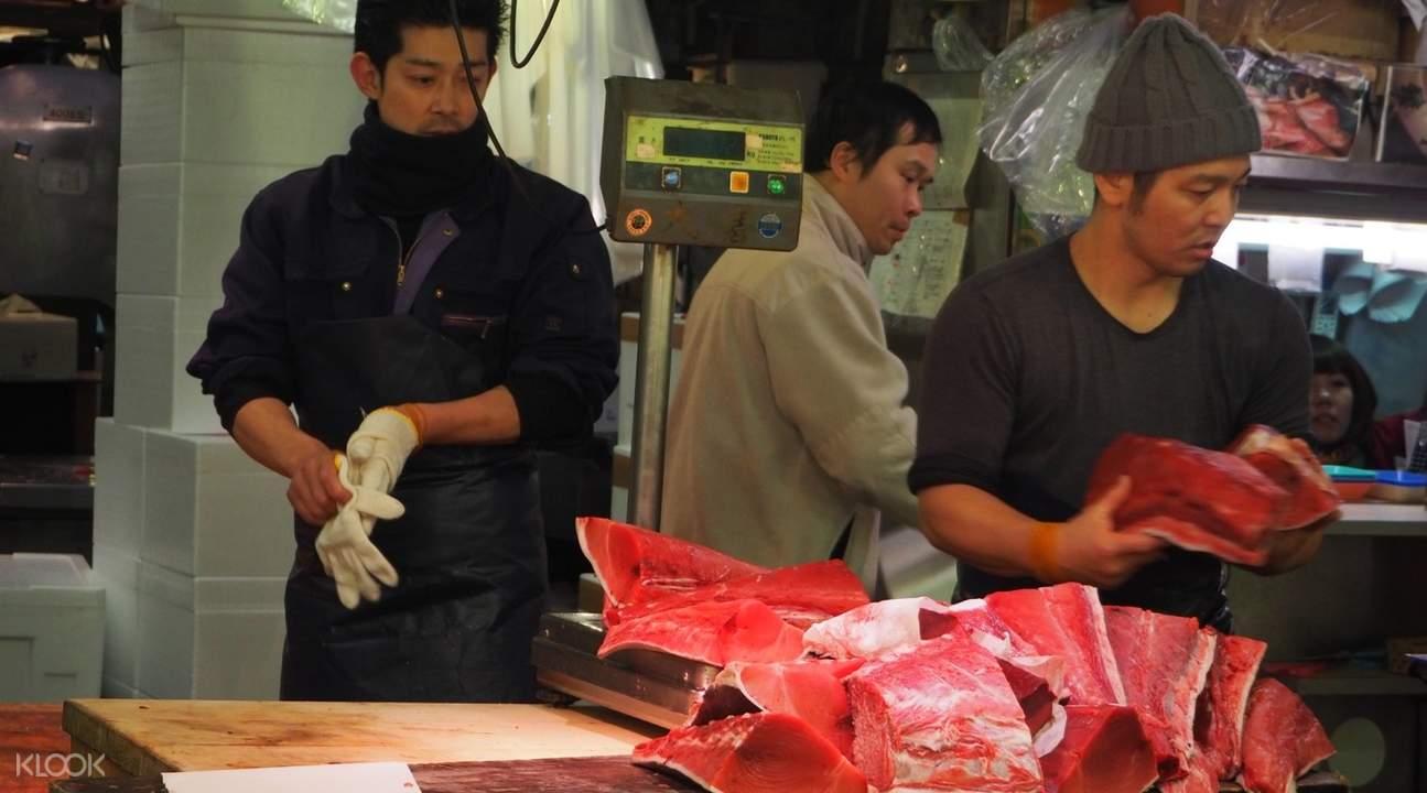tsukiji fish market tour, tsukiji fish market best tour, tsukiji fish market tour and cooking class