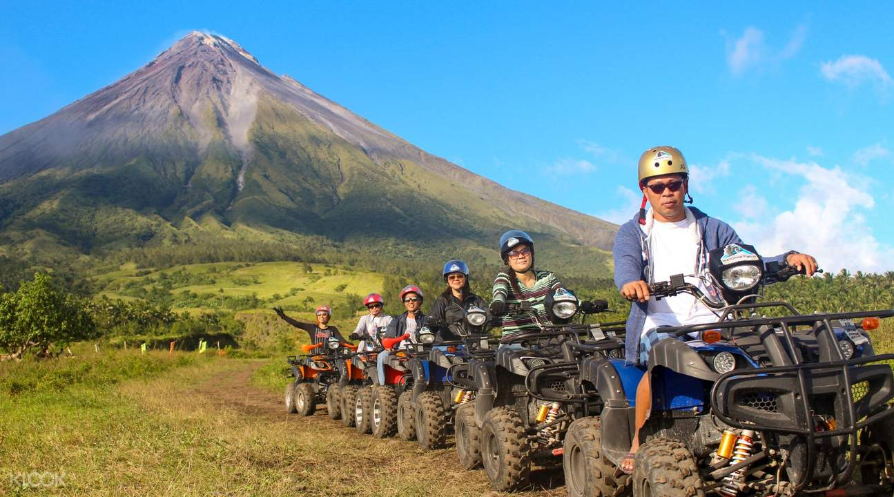 Mount Mayon SkyDrive ATV Experience in Albay