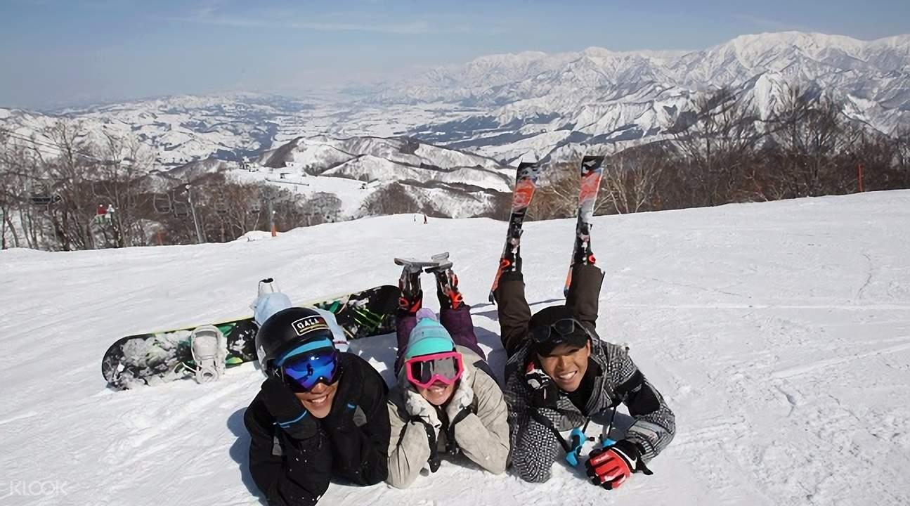 snow resort near Tokyo
