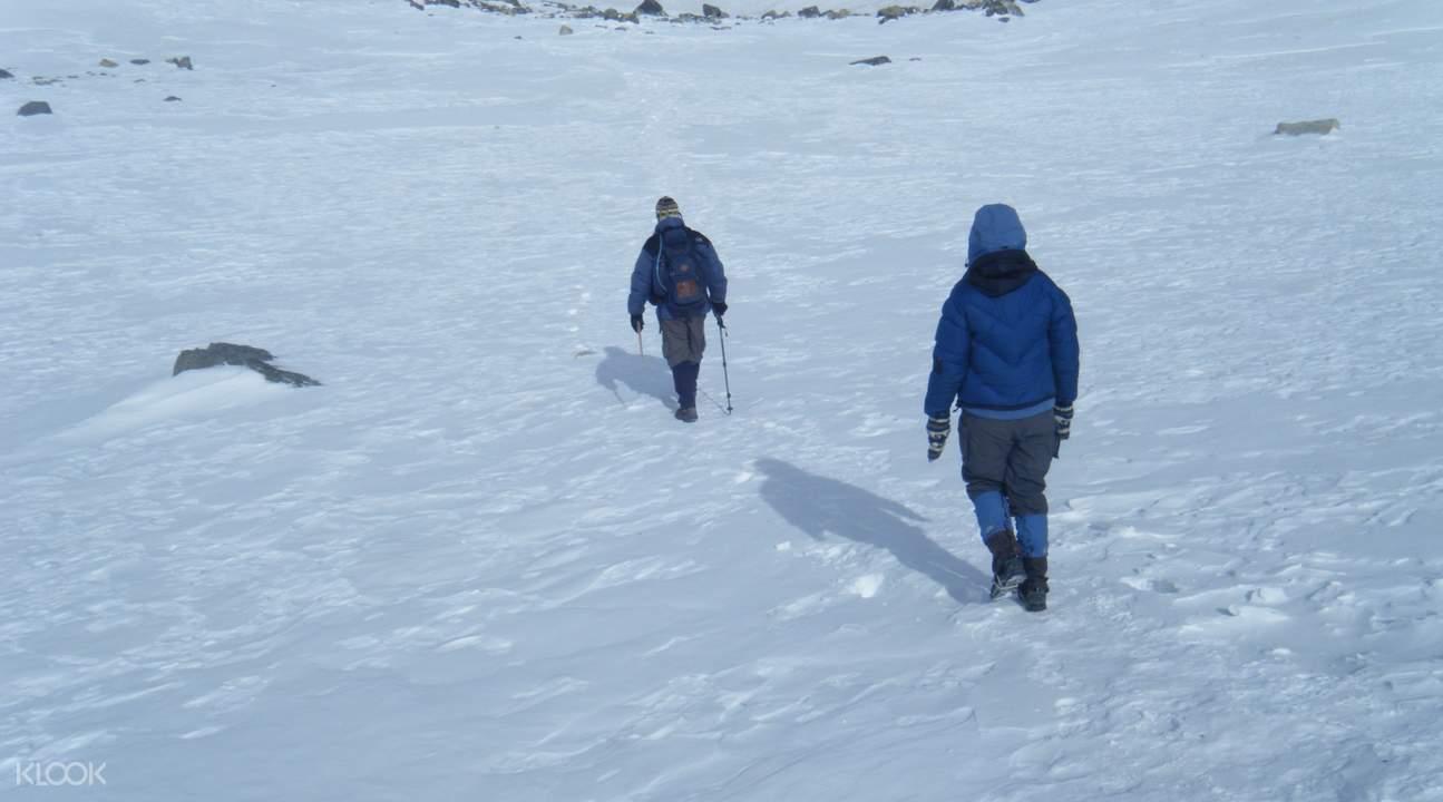 snowy summit ananpurna circuit trek