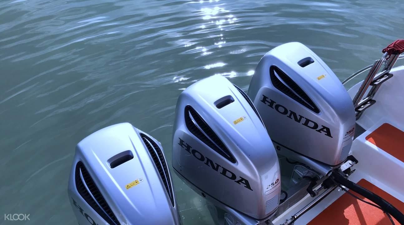 phi phi island and phuket speed boat transfer