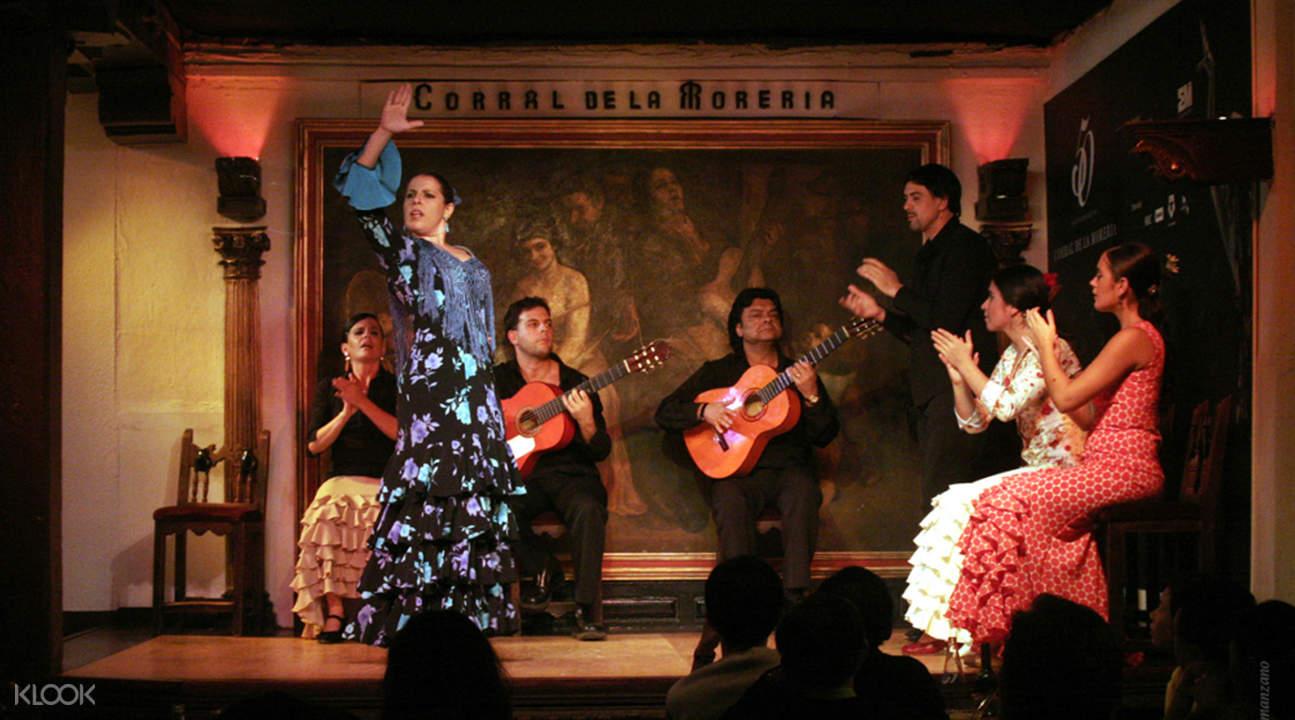 弗拉明戈舞蹈餐厅门票