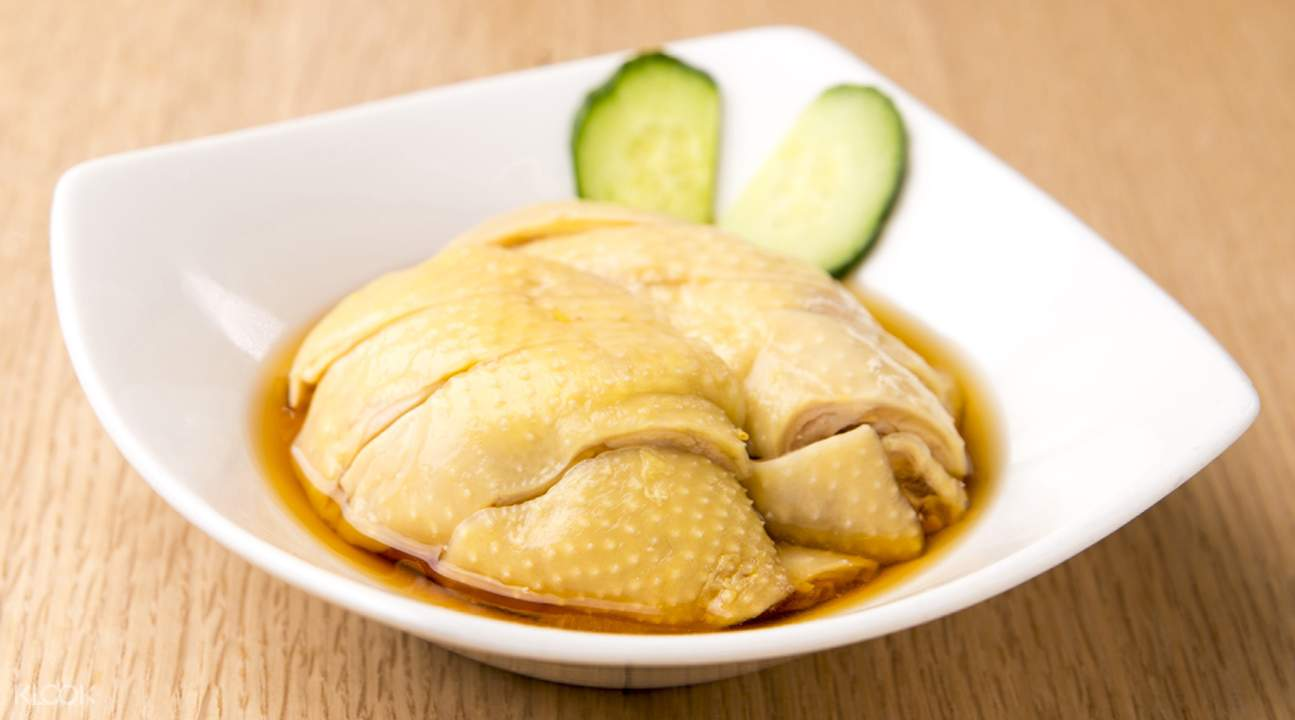 Drunken Chicken at Crystal Jade La Mian Xiao Long Bao in Kowloon Bay