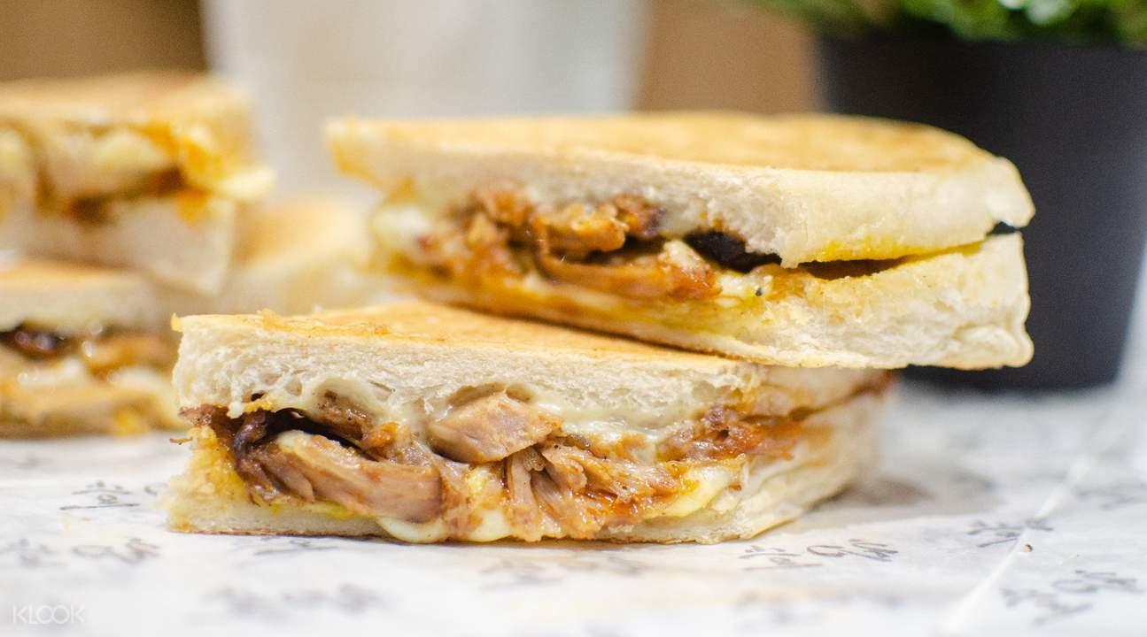 初堂放感情台灣台中古巴三明治在新加坡