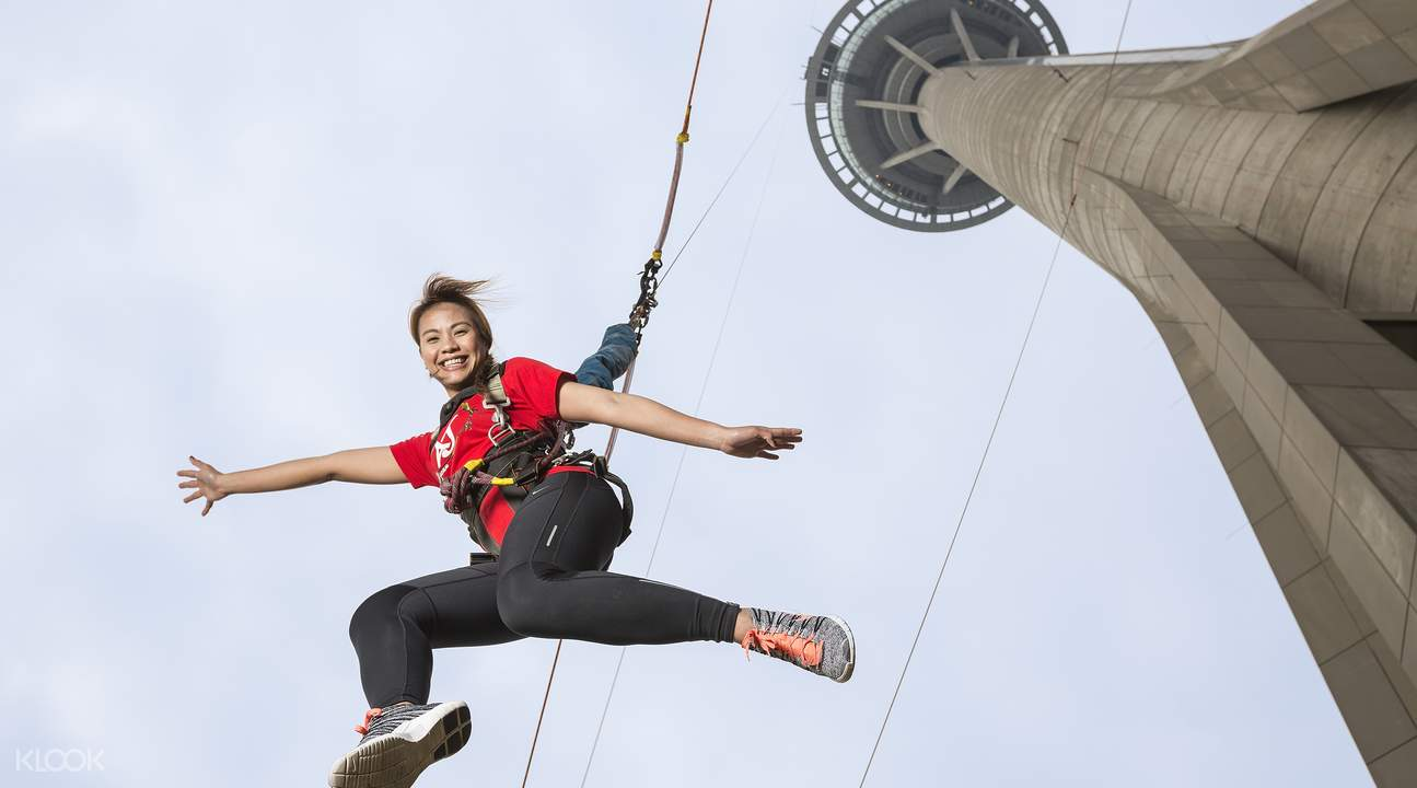 Macau Tower Skyjump