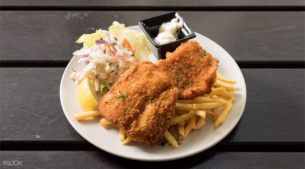 breaded fish and chips hang out cafe bencoolen singapore