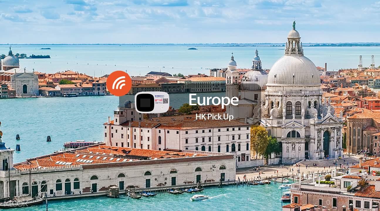 4G/3G WiFi (Hong Kong Pick Up) for Europe