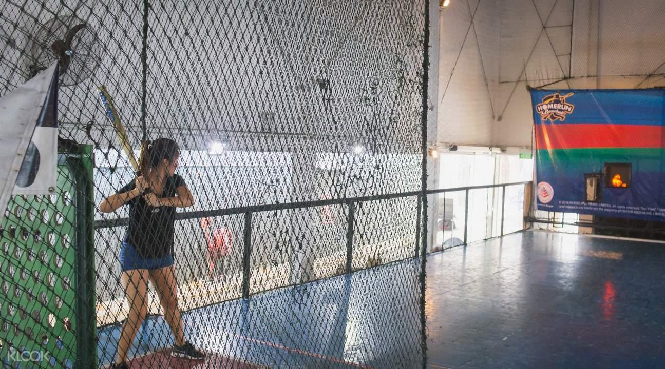 automated equipment homerun baseball batting cage jurong east singapore