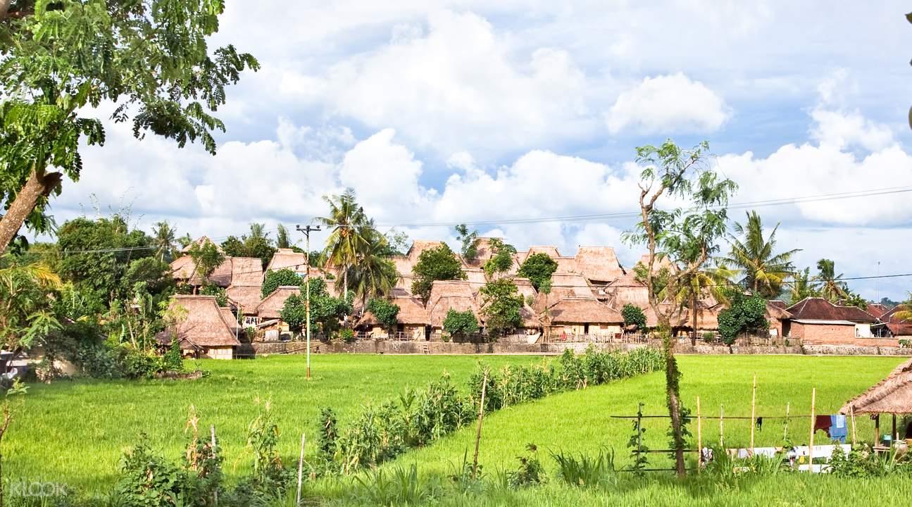 萨萨克族村落