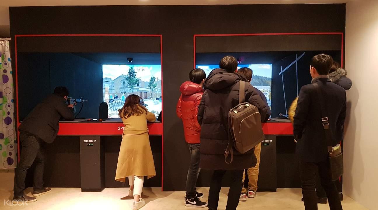 釜山TARGETZONE室内3D射击场(西面店)