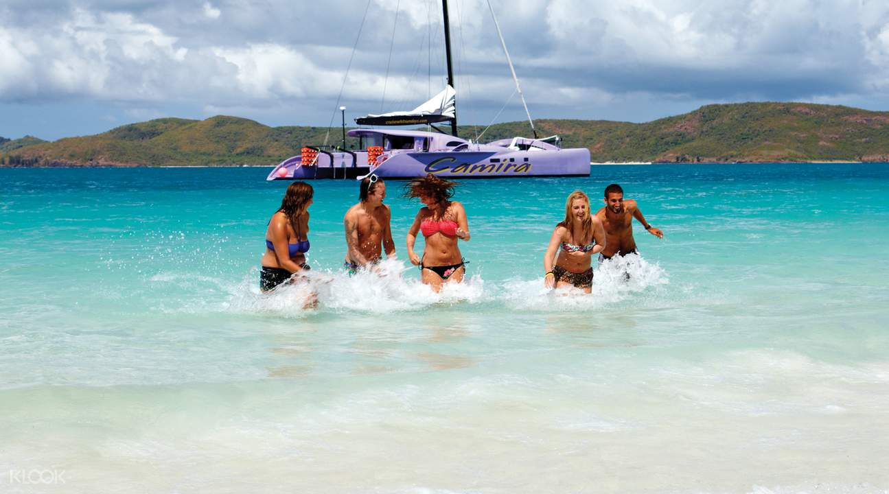 Whitehaven Beach Camira Sailing Full Day Adventure from Airlie Beach
