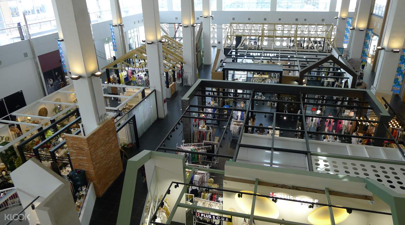 shopping tour in incheon