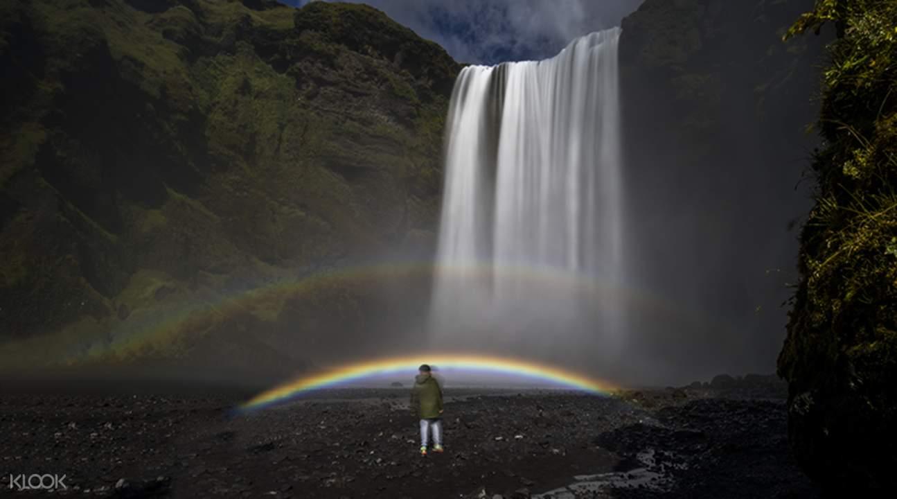 冰島南岸觀光-斯科加瀑布