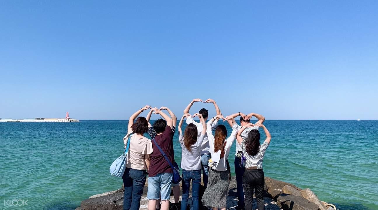 Goblin Korean drama beach filming spot