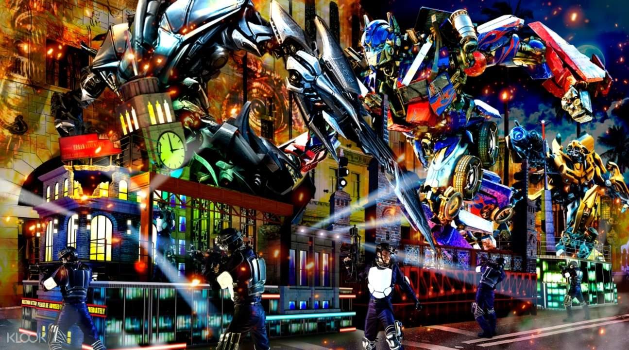 Universal studios japan transformers