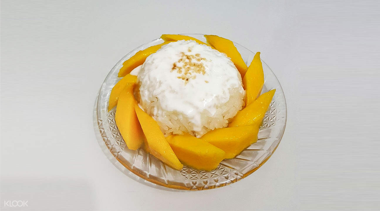 mango sticky rice Dessert Temptations