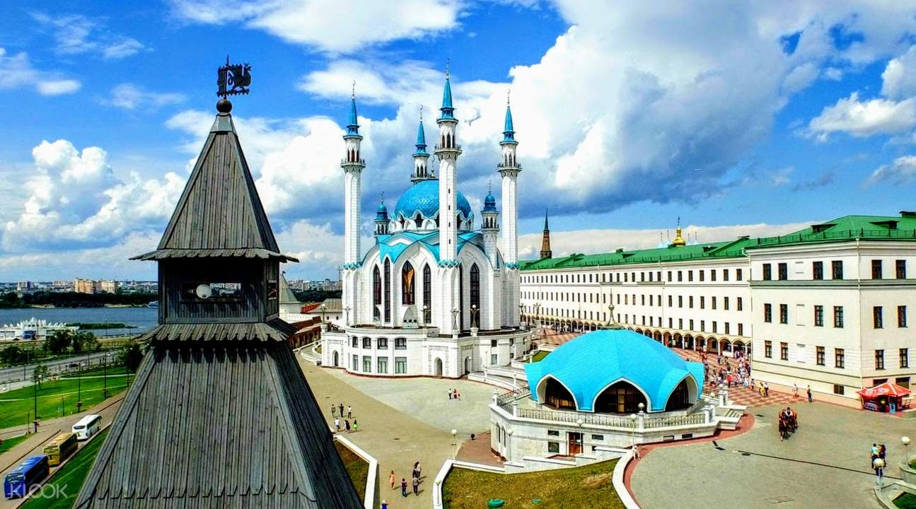 mosque in kazan