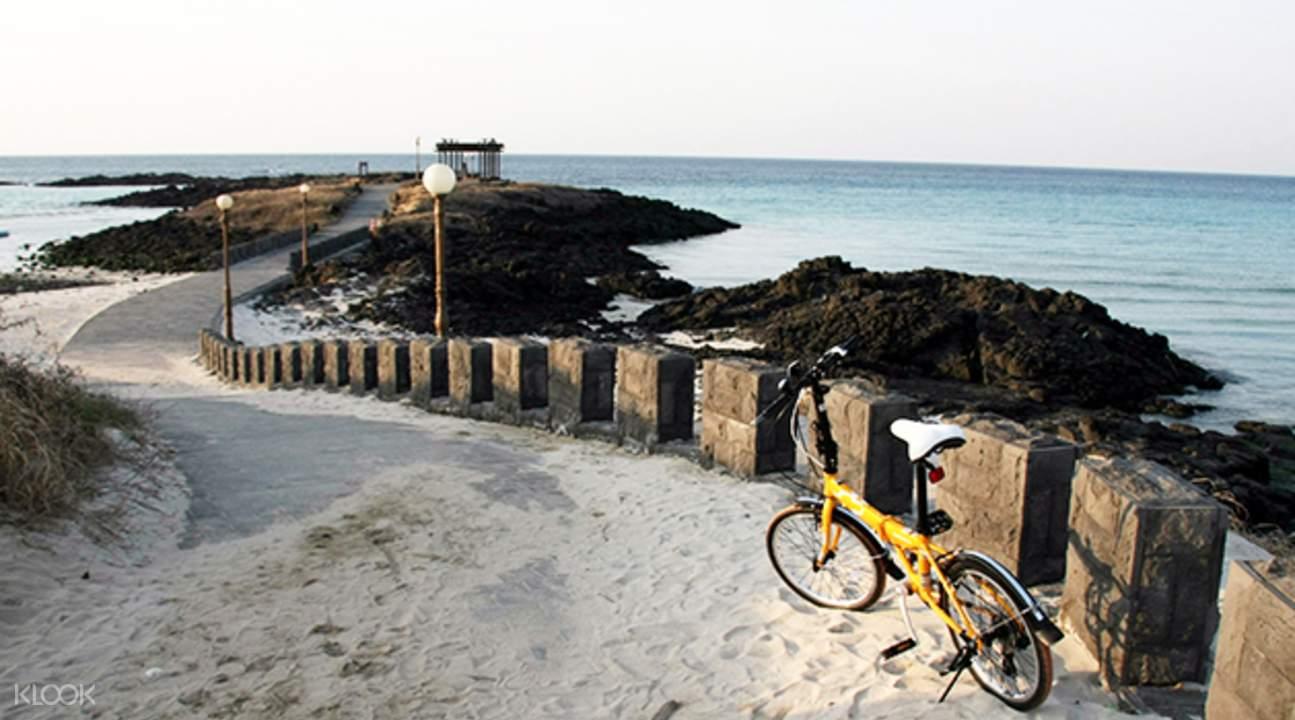 济州岛 租自行车