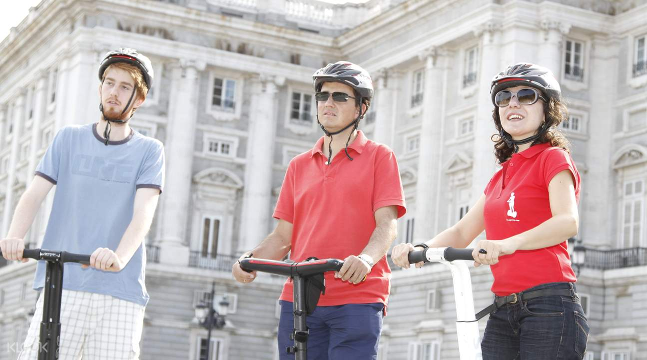 Where to ride segways in madrid